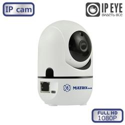 Внутренняя поворотная PTZ IP видеокамера MATRIX MT-PTZ1080IP8(2.8) WiFi
