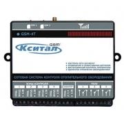 КСИТАЛ GSM-4Т система GSM контроля отопительного оборудования