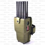 Беркут-12 GSM/CDMA/WiFi/3G/4G/GPS/VHF блокиратор сотовой связи